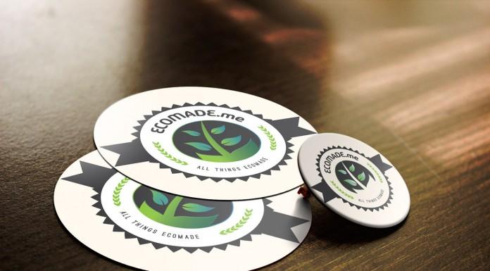 Ecomade.me logo v3b mockup