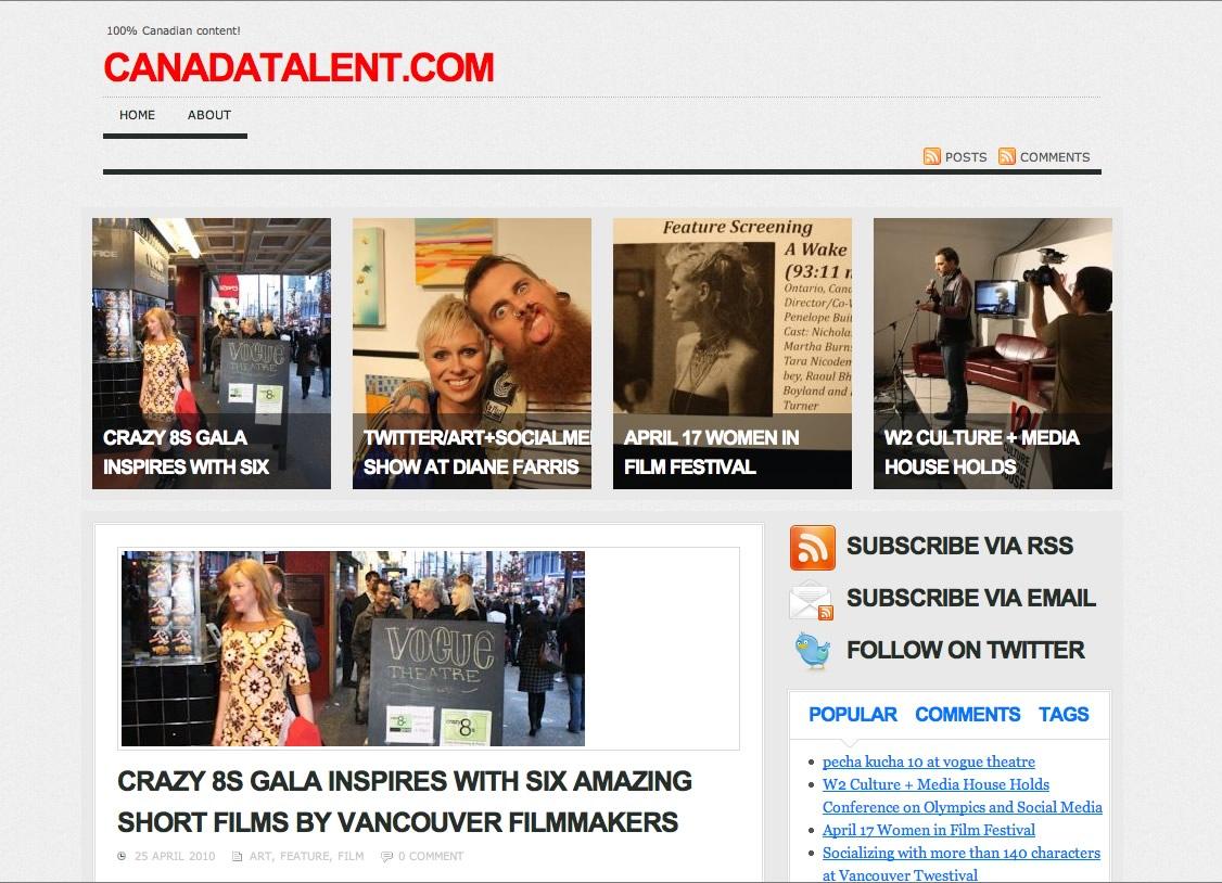 canadatalentmag-homepage
