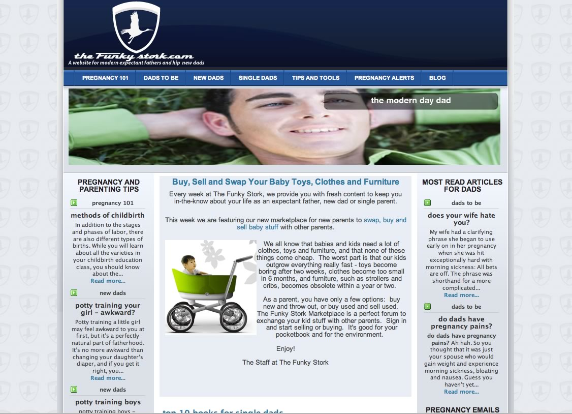 thefunkystork-homepage