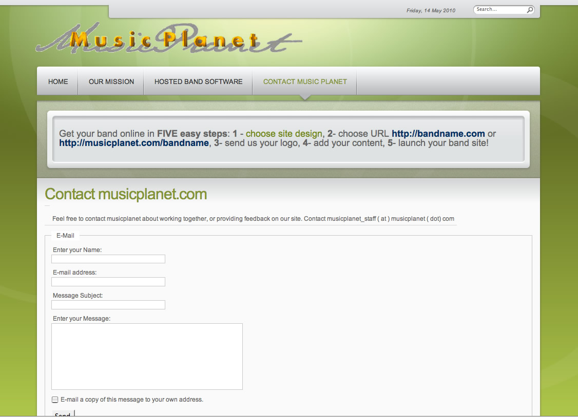 musicplanet-contactpage