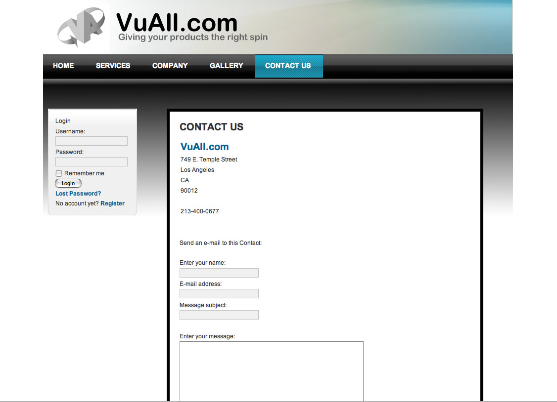 vuall-contactpage