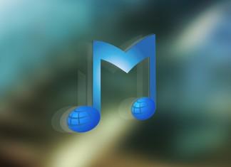 musicplanet.com logo signage mockup